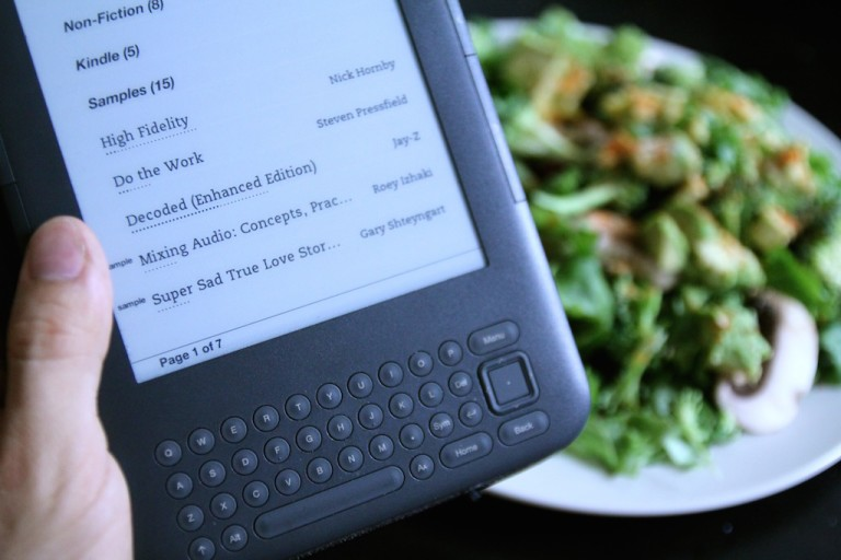 How the Kindle, Uh, Rekindled My Love for Reading